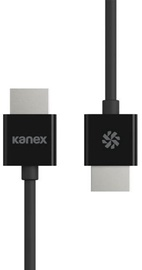 Kanex Ultra Slim HDMI 4K Cable Black 2m