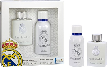 Подарочный набор для мужчин Real Madrid Real Madrid 2pcs Set 250ml EDT