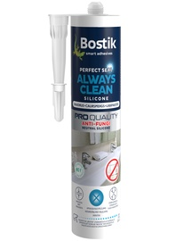 Bostik Perfect Seal Always Clean Silicone 280ml Clear