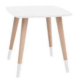 Kafijas galdiņš Black Red White Txl 011 White, 450x450x450 mm