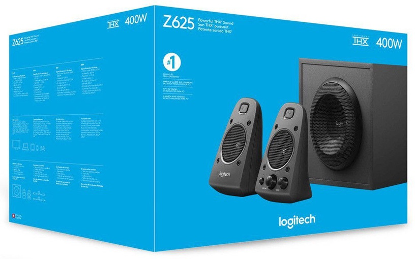 Logitech Z625 Speakers with Subwoofer
