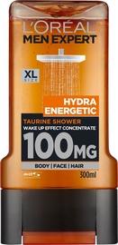 Dušas želeja L´Oreal Paris Men Expert Hydra Energetic, 300 ml