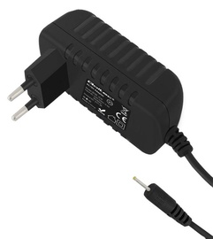 Qoltec AC Adapter Charger 15W 5V 3A 2.5*0.7 Black 1.4m