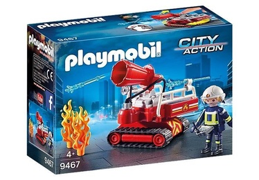 Playmobil City Action Fire Water Canon 9467