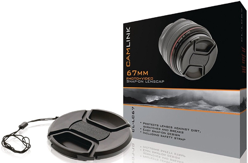 CamLink Snap-On Lens Cap 67mm