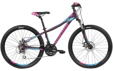"Kross Lea 4.0 M 27.5"" Violet Pink Blue Glossy 19"