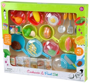 Mängukomplekt PlayGo Cookware & Food Set 3740