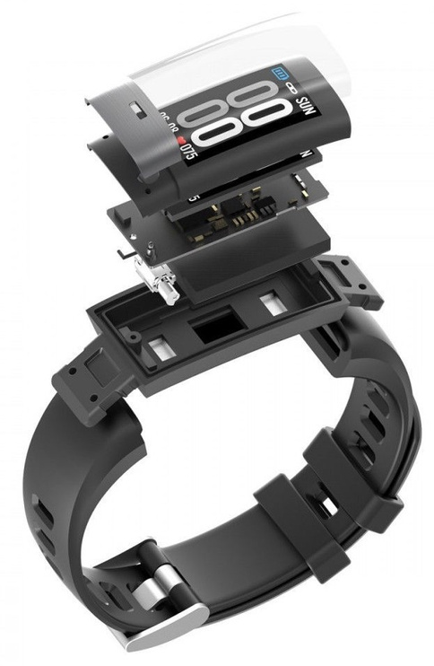 Išmanioji apyrankė ProMedix PR-650, juoda