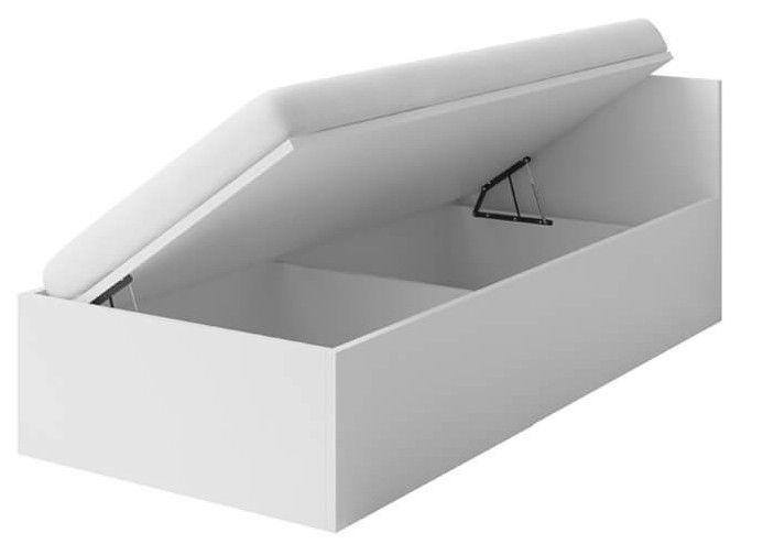 Vaikiška lova Idzczak Meble Smyk I 46 White, 206x93.5 cm