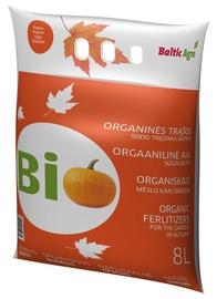 Trąšos organinės rudeninės Baltic Agro, 8 kg