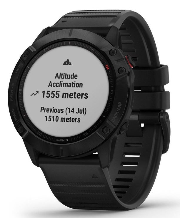 Garmin Fenix 6X PRO Slate Gray with Black Band with Maps Music