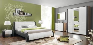 Guļamistabas mēbeļu komplekts Bogfran Naomi, balta