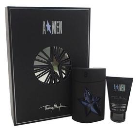 Thierry Mugler Amen Rubber 50ml EDT + 50ml Hair & Body Shampoo New Design