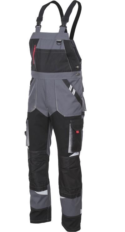 Брюки 10337, черный/серый, XXL
