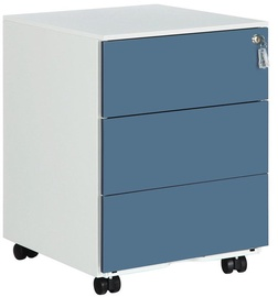 Biuro spintelė Songmics File Cabinet Blue/White, 39x45x55 cm