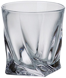 Bohemia Whiskey Crystal Quadro 340ml 6pcs