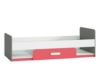 Vaikiška lova ML Meble IQ 12 Raspberry, 203x94 cm