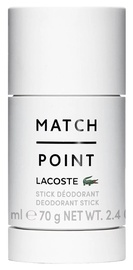 Vyriškas dezodorantas Lacoste Match Point, 75 ml