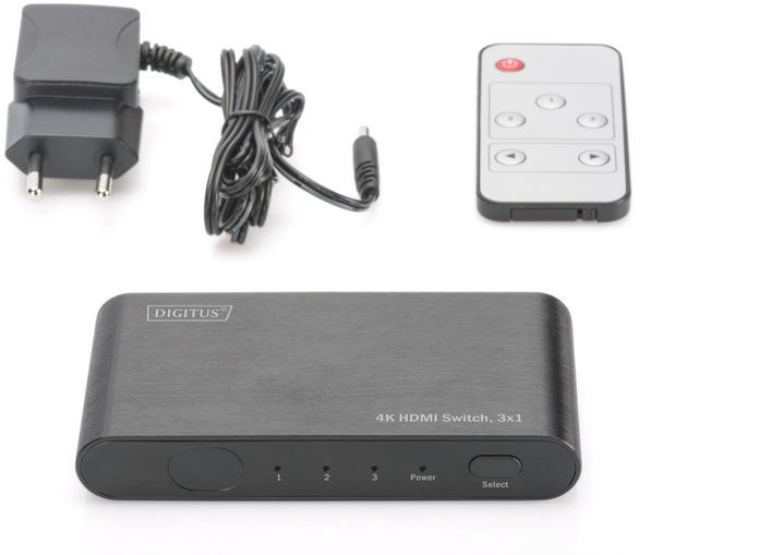Digitus 4K HDMI Switch Black