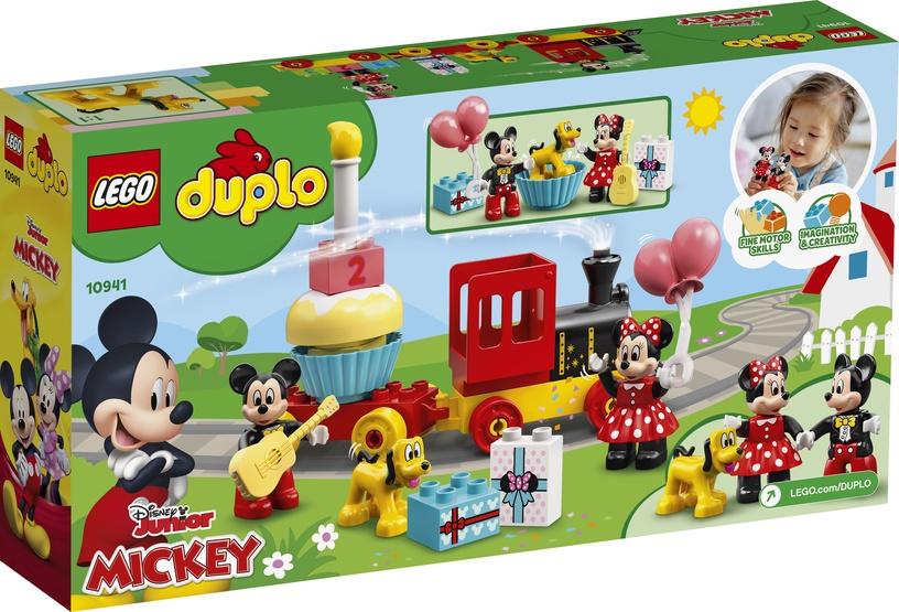 Constructor LEGO Duplo Disney Mickey & Minnie Birthday Train 10941