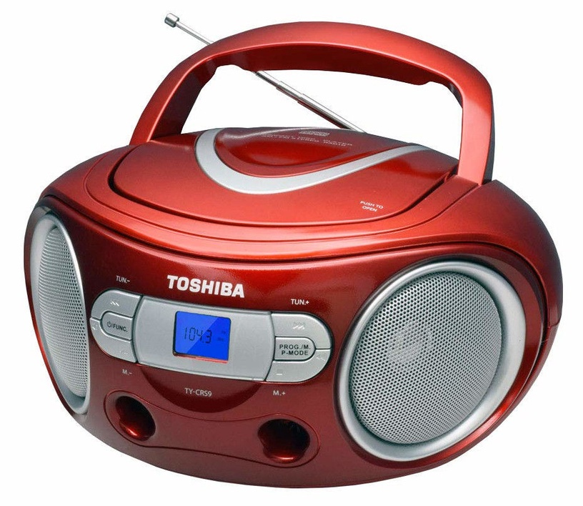 Magnetoola Toshiba TY-CRS9 CD Boombox Red
