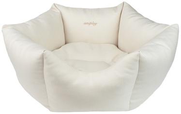 Лежанка Amiplay Palermo Crown Bed L 68x23cm Creamy