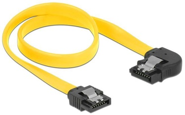 Delock Cable SATA to SATA Yellow 0.3m