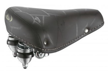 Selle Monte Grappa Doppia Molla Saddle Black