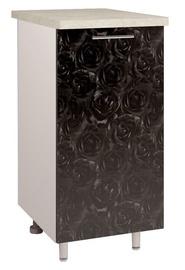 OEM Kitchen Bottom Cabinet D2 4 Black Rose
