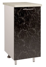 OEM Kitchen Bottom Cabinet D2 4 Black Rose