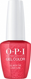 Лак-гель OPI Gel Color Go with the Lava Flow, 15 мл