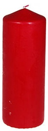 Verners Pillar Candle 6x15cm Red