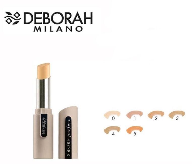 Maskuojanti priemonė Deborah Milano 24ore Perfect 4, 1.6 g