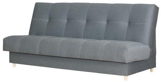 Dīvāngulta Bodzio Kortina S3 Grey, 197 x 90 x 92 cm