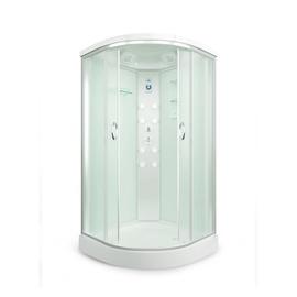 Dušas stūris 90x90 ar paliktni 4509p-c3 (erlit)