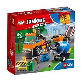 Konstruktors LEGO Juniors Road Repair Truck 10750