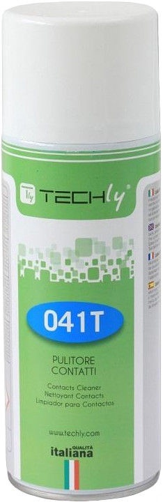 Techly 023479 Contact Cleaner 400ml