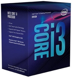 Intel® Core™ i3-8350K 4.00 GHz 8M LGA1151 BX80684I38350K