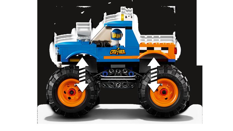 Konstruktor LEGO City Monster Truck 60180
