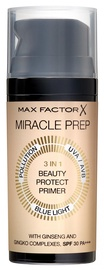 Maskuojanti priemonė Max Factor Miracle Prep 3in1 Beauty Protect Primer SPF30, 30 ml