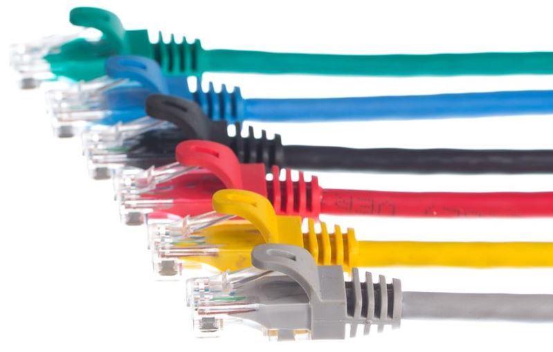 Netrack CAT 5e UTP Patch Cable Black 0.5m