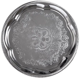 Fissman Serving Tray Chrome D35cm 9417