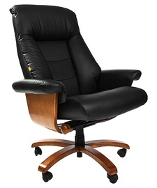 Chairman 400 Leather Black