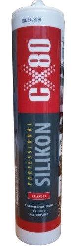Жидкий герметик CX80 High Temperature Silicone 380°C Red 310ml