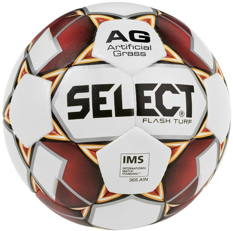 Select Flash Turf 2019 IMS Ball 14990 White/Red Size 5
