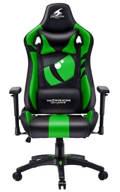 Warrior Chairs Dragon Gaming Chair Black/Green