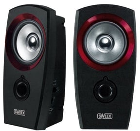 Sweex SP041 USB 2.0 Speaker Set Black/Red