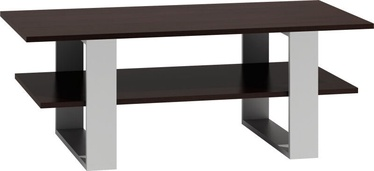 Kafijas galdiņš Top E Shop Martyna, brūna/balta, 1200x600x550 mm