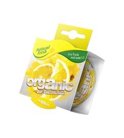 Automobilių oro gaiviklis Natural Fresh Organic Lemon