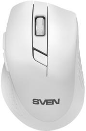 Kompiuterio pelė Sven RX-425W White, bevielė, optinė